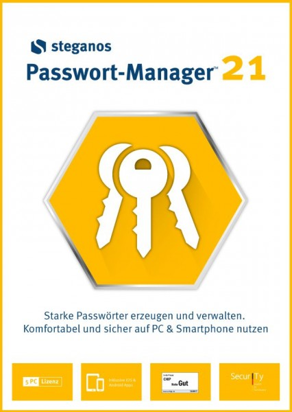 Steganos Passwort Manager 21