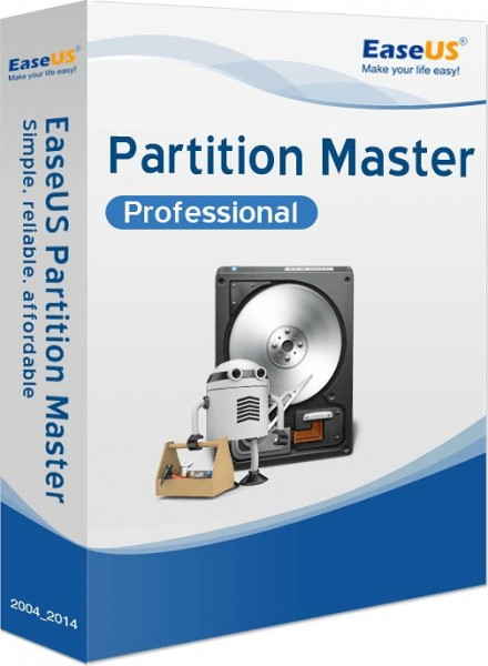 EaseUS Partition Master Professional 14.5 Vollversion