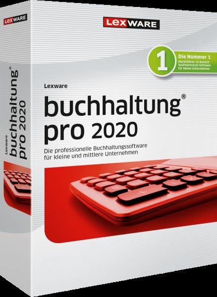 Lexware Buchhaltung Pro 2020, 365 Tage Laufzeit, Download