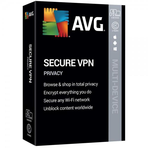 AVG Secure VPN 2020, 1-2 Jahre