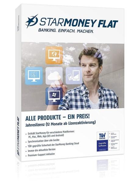 StarMoney Flat Jahreslizenz PC, MAC, Android inkl.Premiumsupport