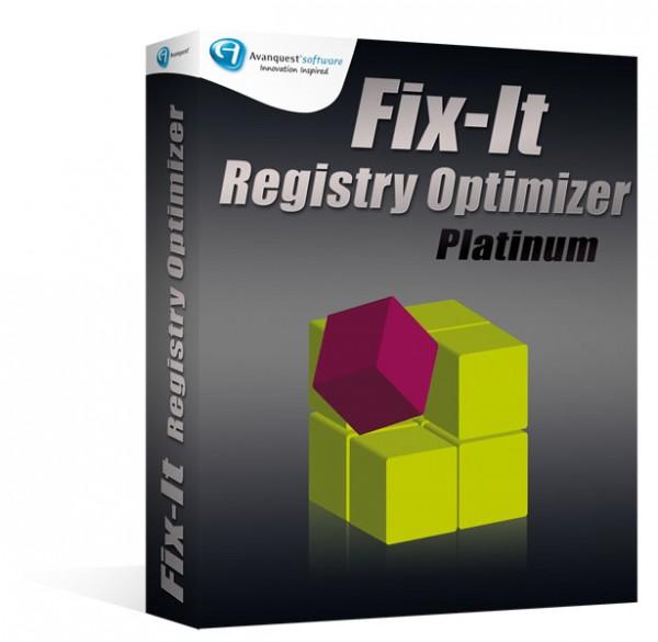 Avanquest Fix-It Registry Optimizer Platinum